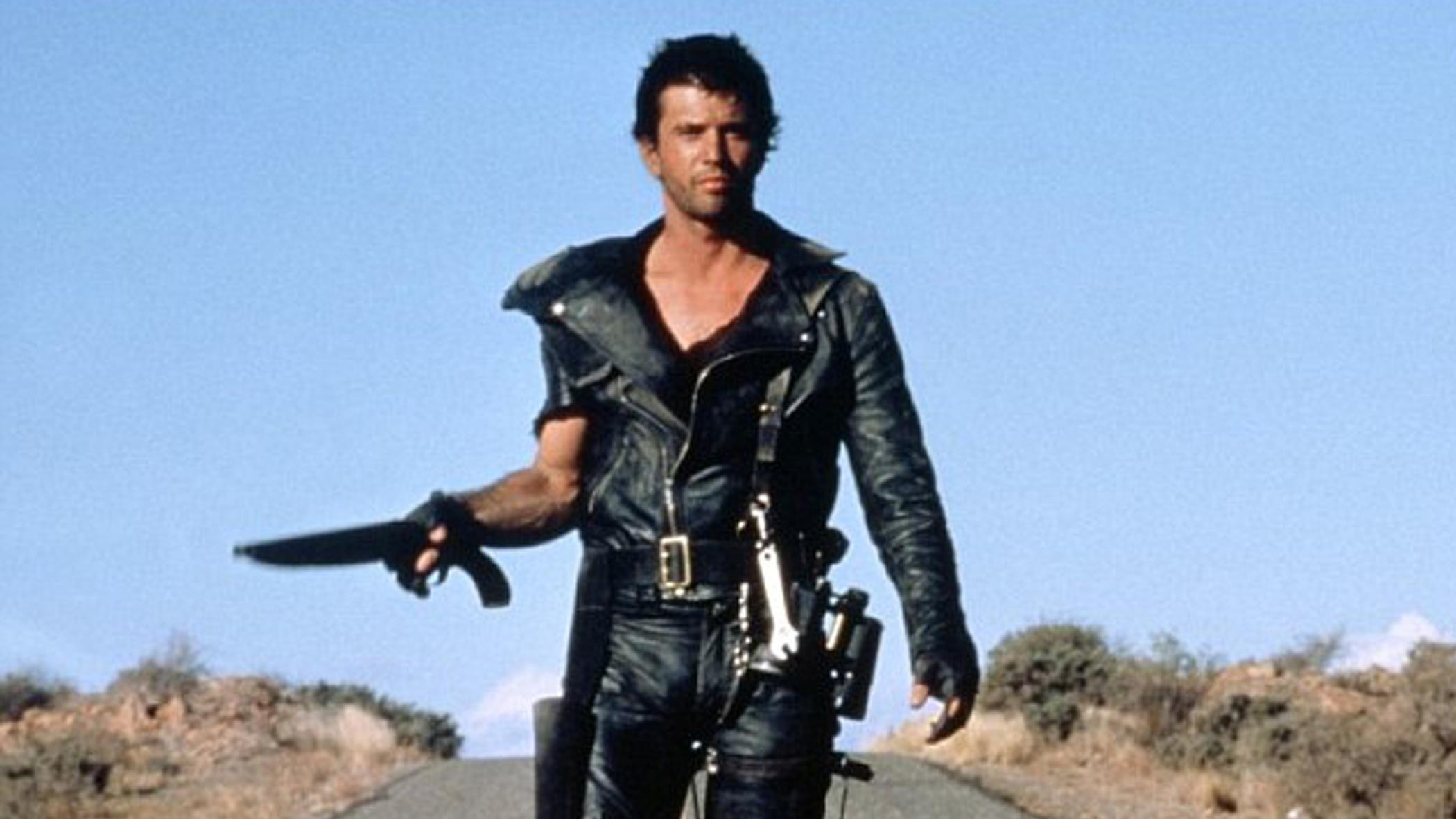 Max Rockatansky (Mel Gibson) with his gun
